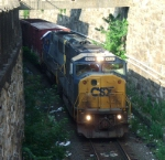 CSX 8727 In Emergency